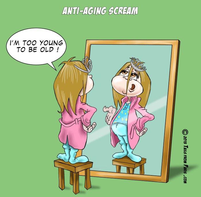 anti aging scream