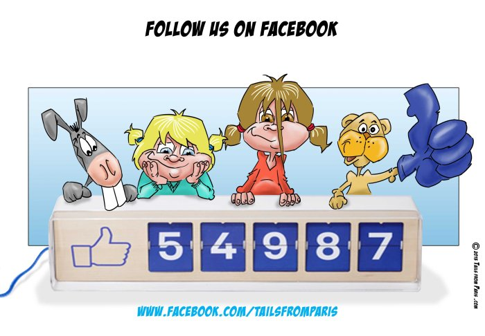 generique facebook version US avec facebook com tailsfromparis