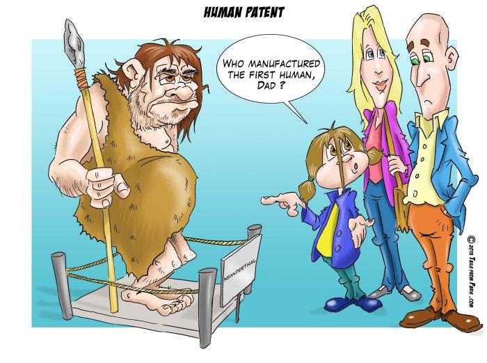 human patent