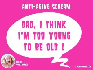 anti-aging scream