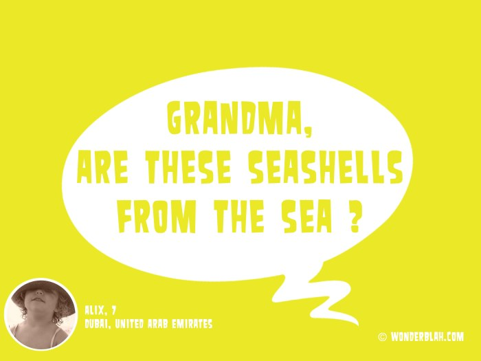 can you sea ?