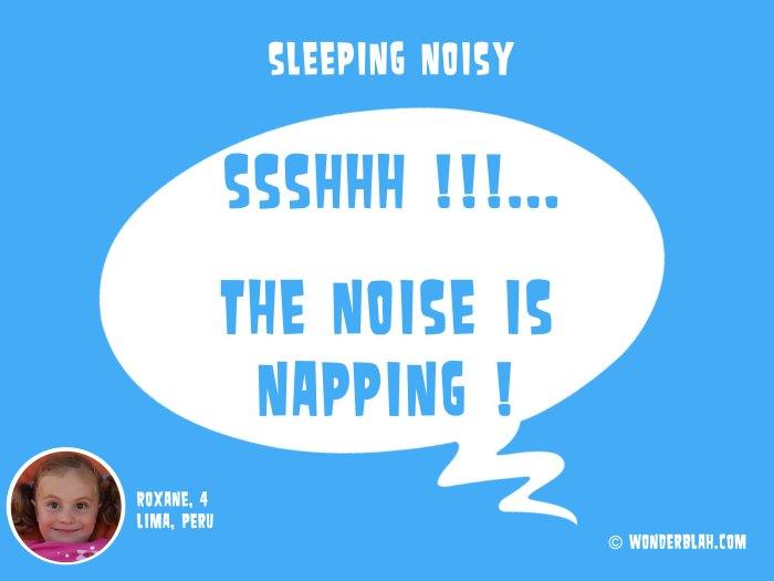 sleeping noisy